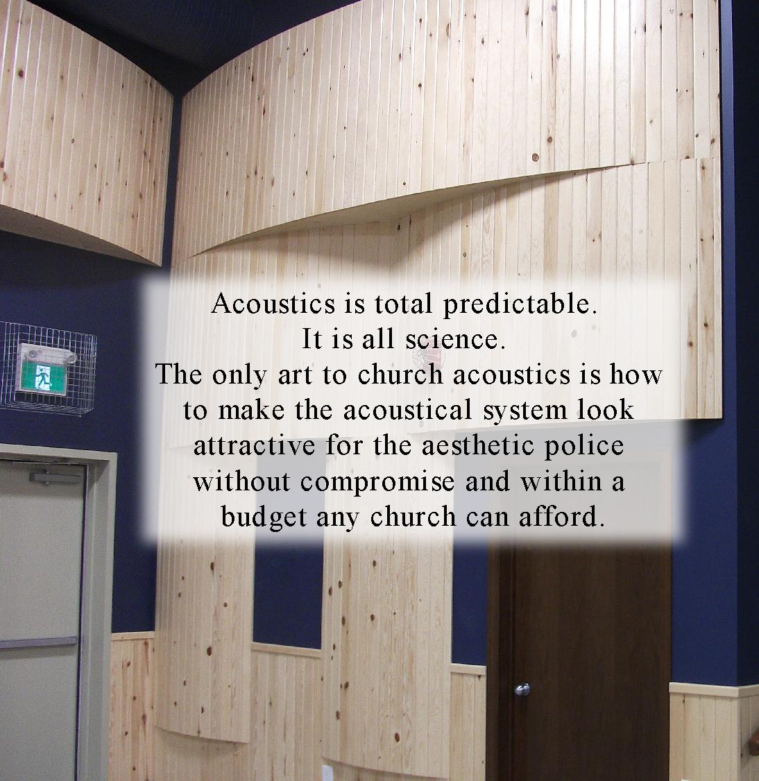 acoustics predicable