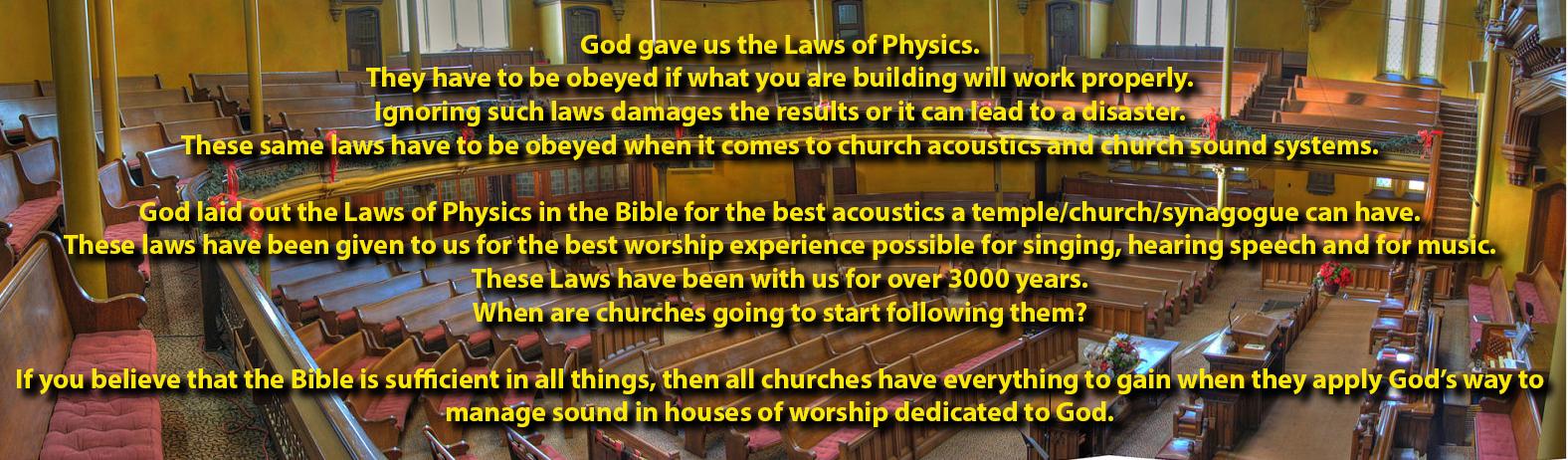 Church Acoustics & Sound Systems